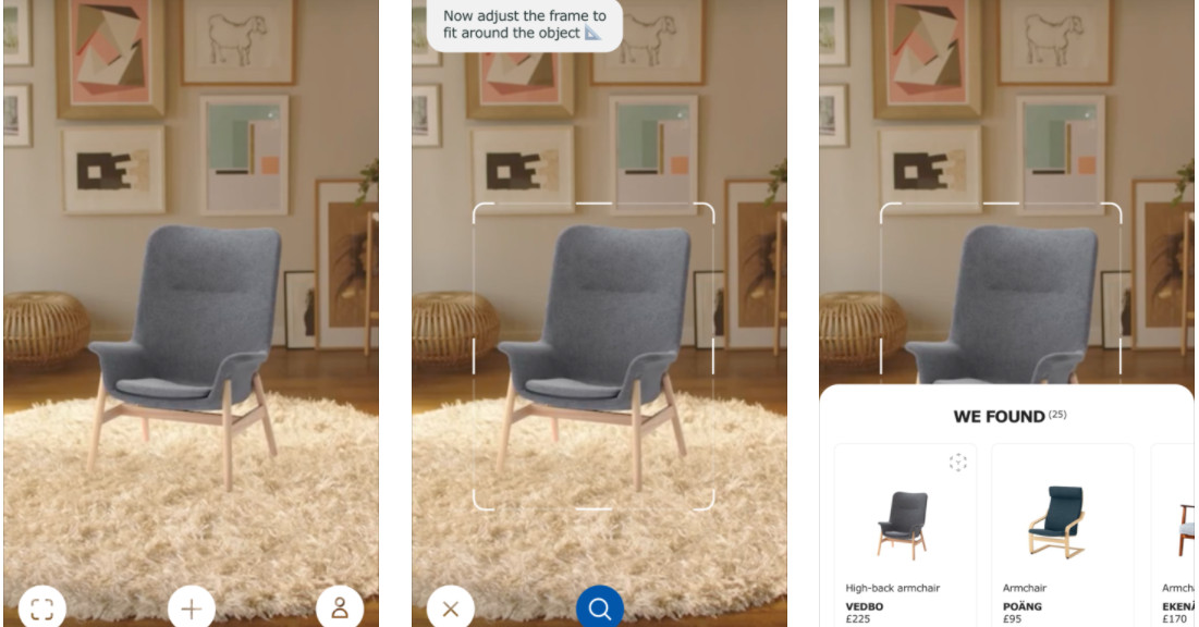 ikea s ar app now lets you search with your phone camera curbed. Black Bedroom Furniture Sets. Home Design Ideas