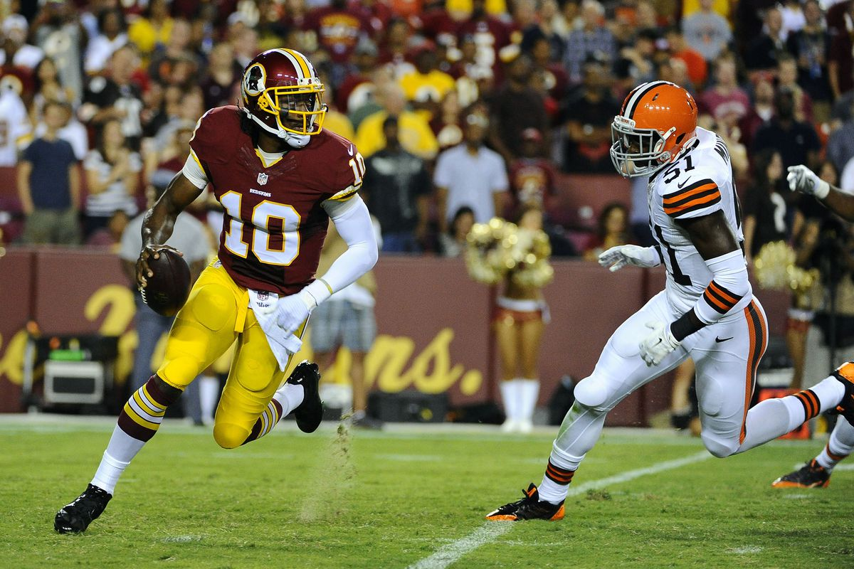 b62d10b0 Robert Griffin III is evolving, but into what? - SBNation.com