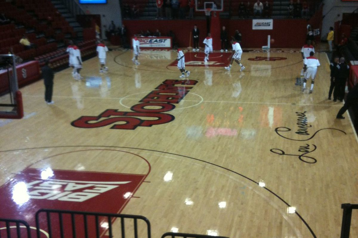 St. John's welcomes the South Carolina Gamecocks to Carnesecca Arena as part of the Big East/ SEC matchup.