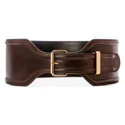 Croc Effect Belt in Brown, $29.99 (Available on Net-A-Porter)