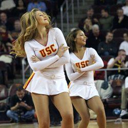 USC Song Girls dance.