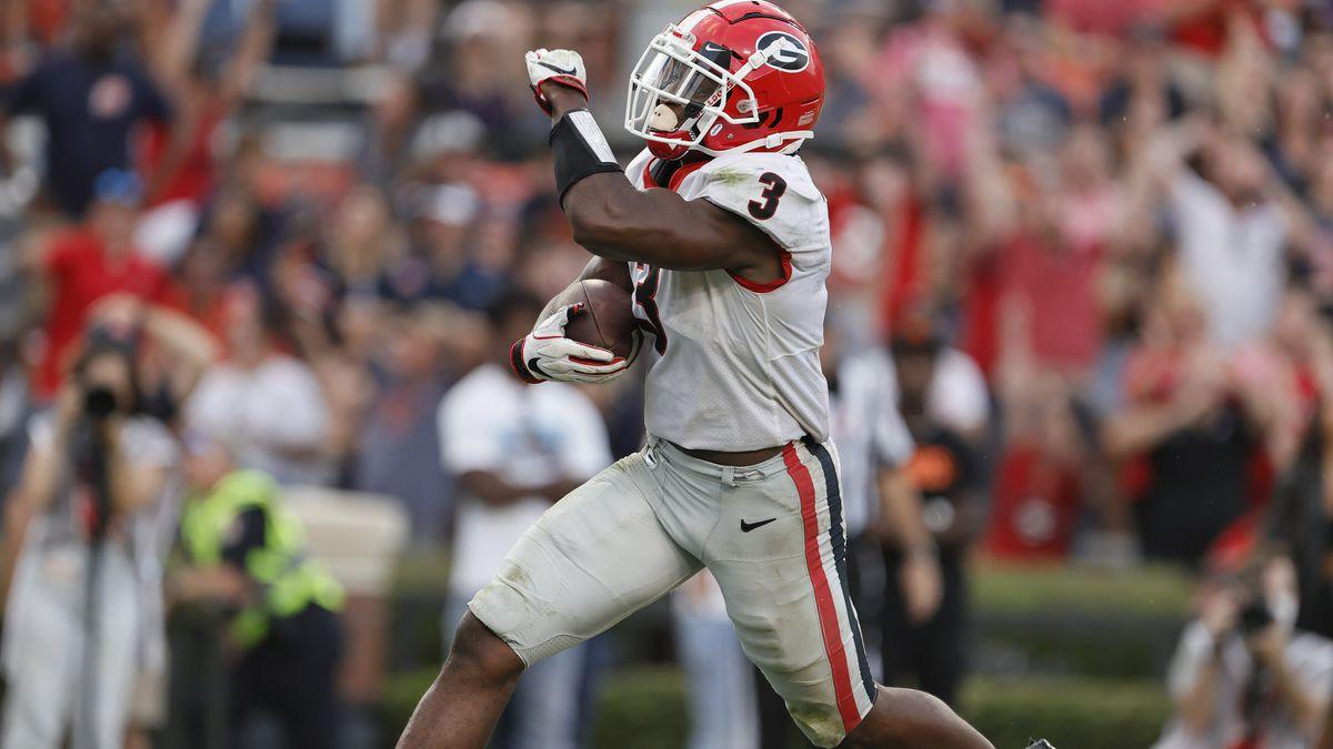 NCAA Football: Georgia at Auburn
