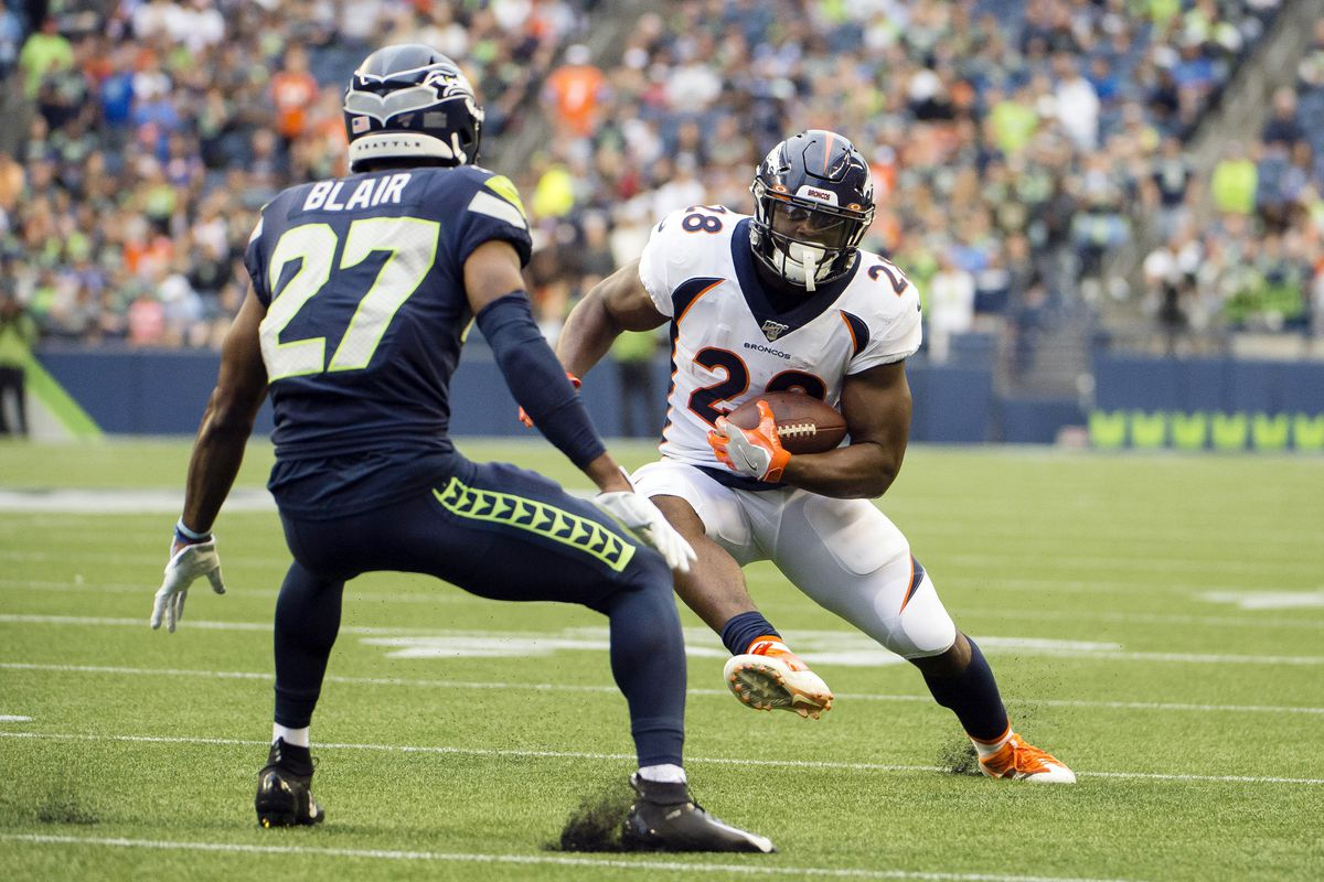 8fa810af Denver Broncos vs Seattle Seahawks: The Preseason No Bull Review ...
