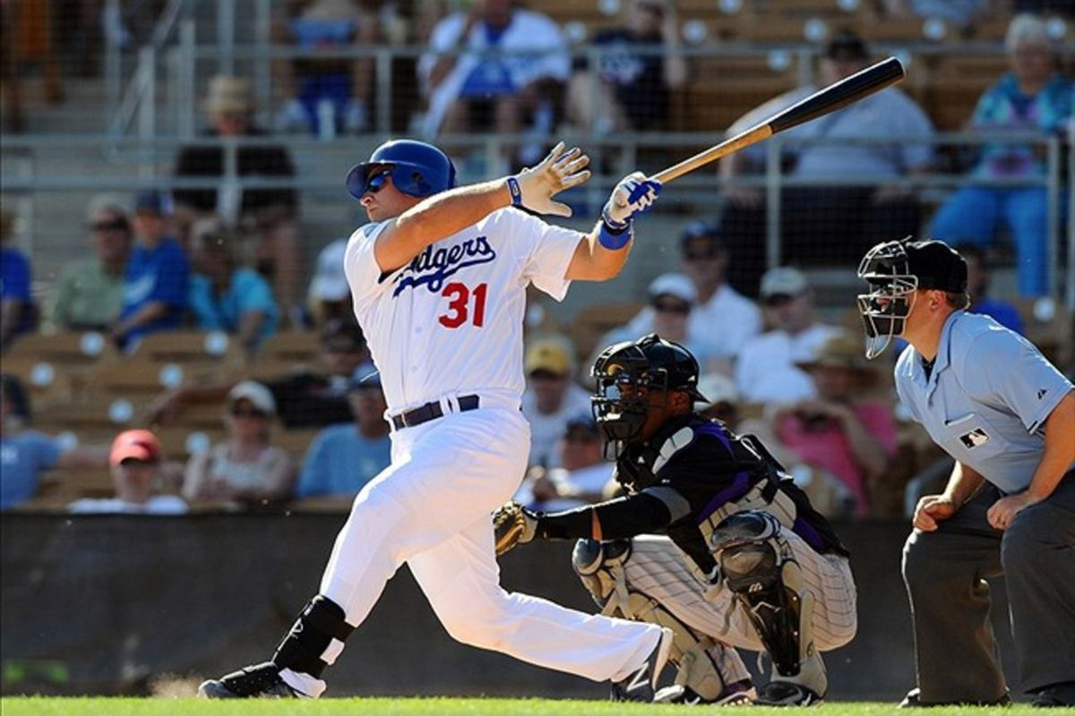 Tim Federowicz leads the Dodgers minor league ranks at catcher