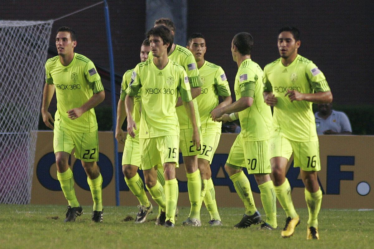 Monterrey v Seattle Sounders - 2010 CONCACAF Champions League