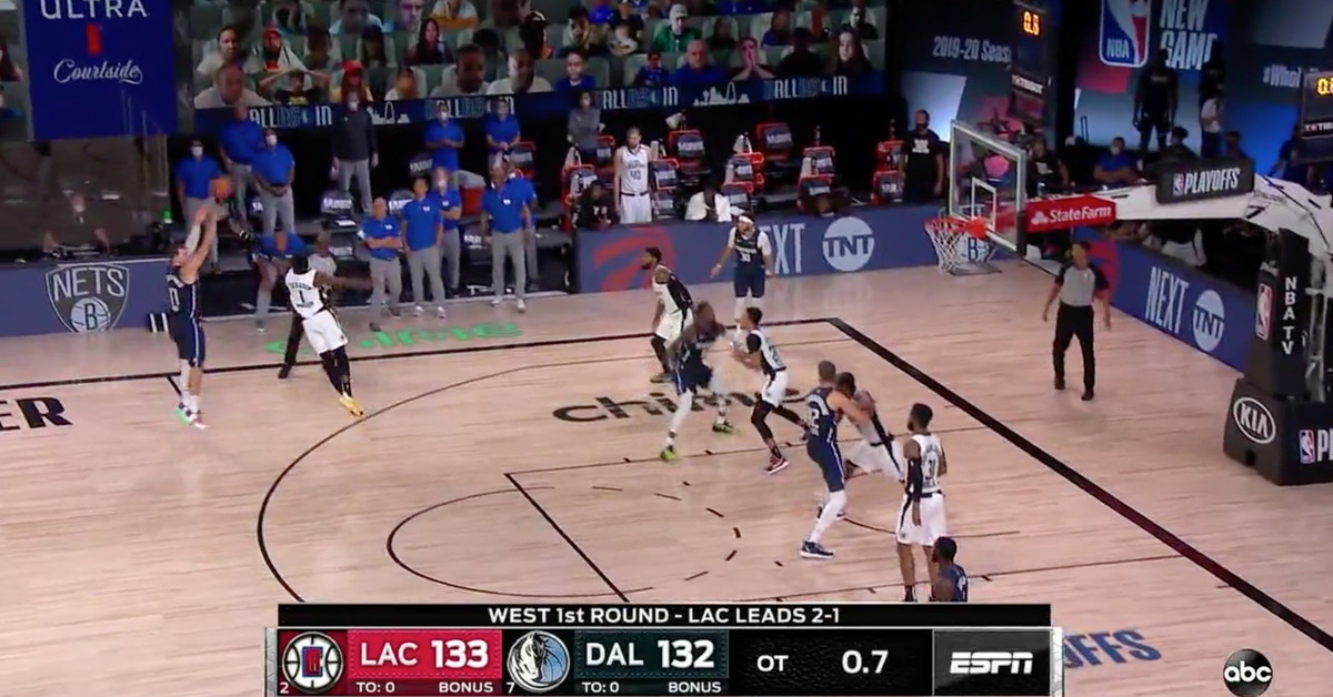 Luka Doncic S Game Winner Over The Clippers Was Pure Joy Sbnation Com