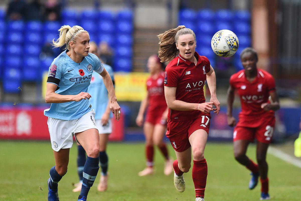 Liverpool FC Women v Manchester City FC Women - FA WSL