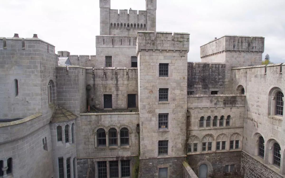 Outside of stone castle