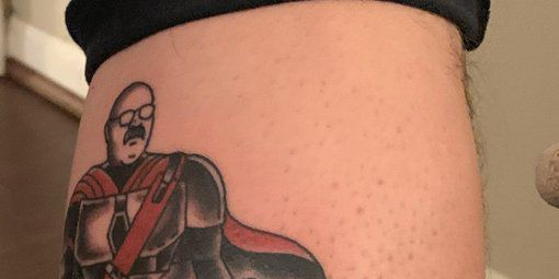 Andy Reid And Patrick Mahomes Star In The Mandalorian In The Best Sports Tattoo Ever Sbnation Com