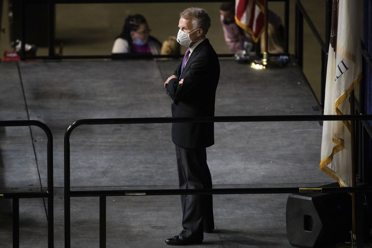 House Mike Madigan watches the proceedings from the Speaker's platform during the spring legislative session at the Bank of Springfield Center in May.
