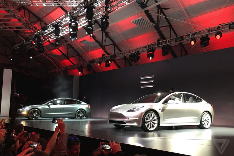tesla new car releaseTesla Model 3 announced release set for 2017 price starts at