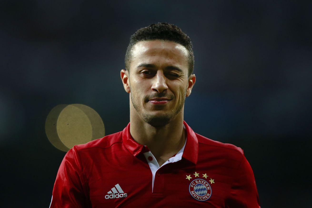 Thiago ponders Barcelona return