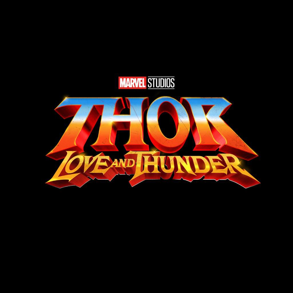 The official title image for Thor: Love and Thunder