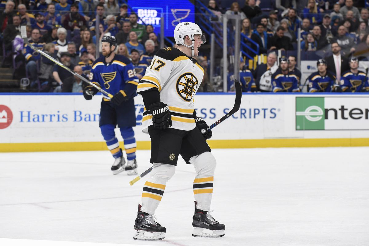 preview st louis blues visit boston bruins stanley cup of chowder. Black Bedroom Furniture Sets. Home Design Ideas