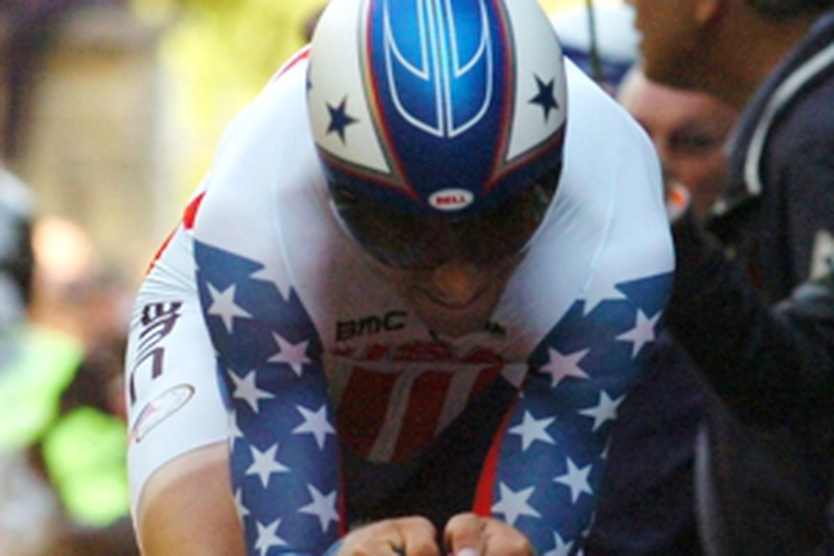 Taylor Phinney at the Worlds