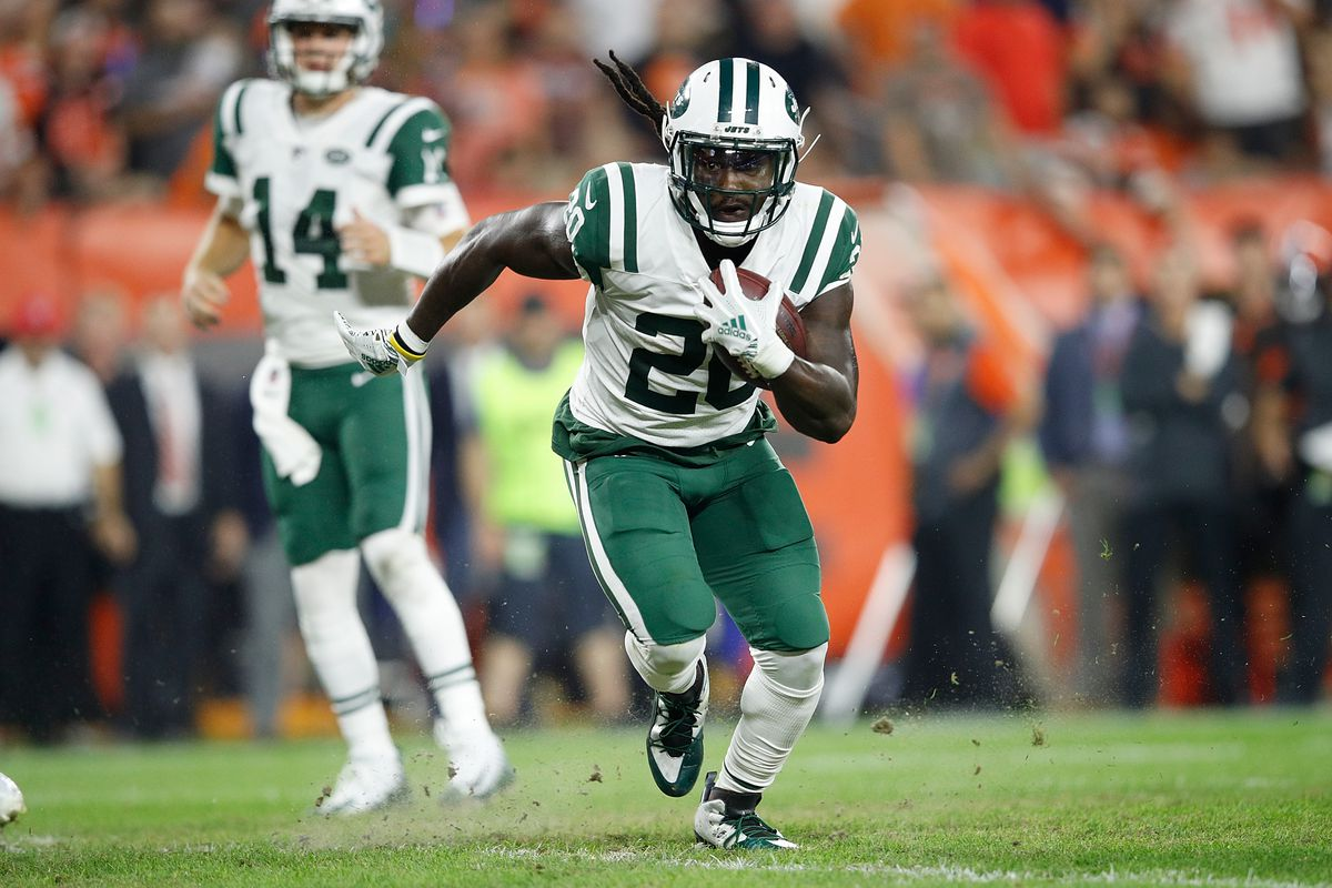 detailed look 609b3 5916f Raiders add RB Isaiah Crowell on 1-year deal - Silver And ...
