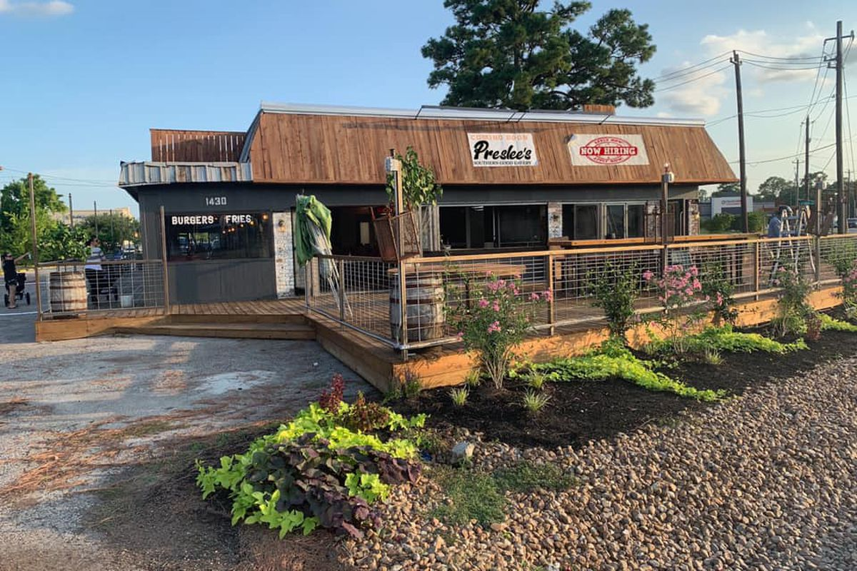 The exterior of Preslee's