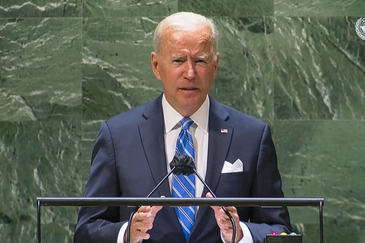 President Biden speaks at the UN General Assembly in New York