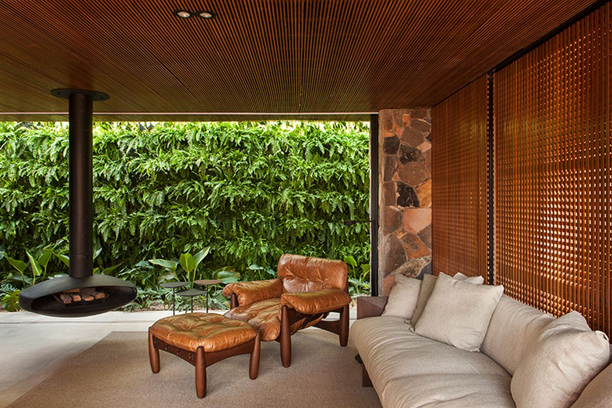 Modern Home In Brazil Plays Up A Vintage Feel Curbed