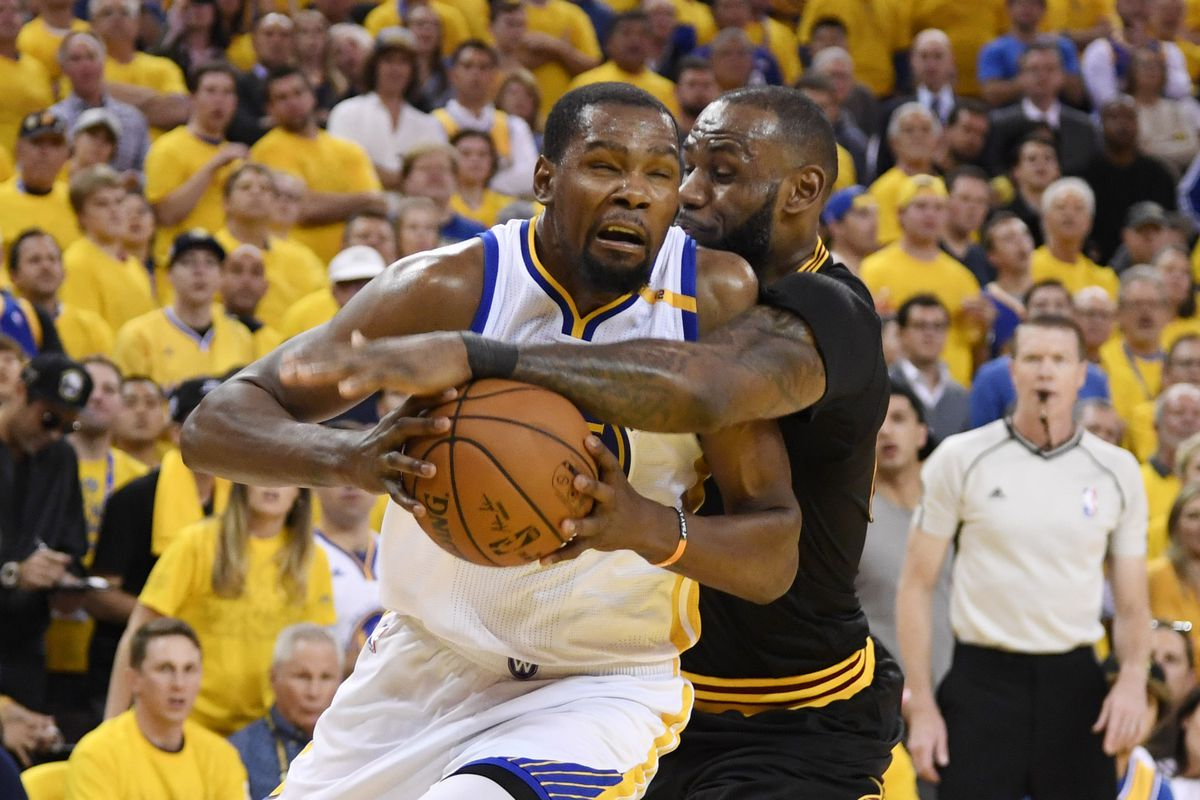 Cavs Fans Think This Non-Call On Kevin Durant Changed The Game