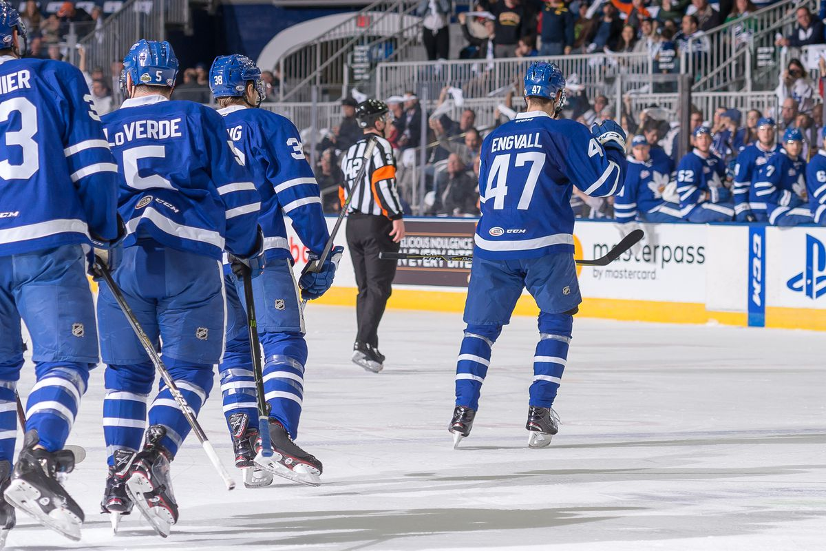 toronto marlies vs syracuse crunch series preview - pension plan puppets