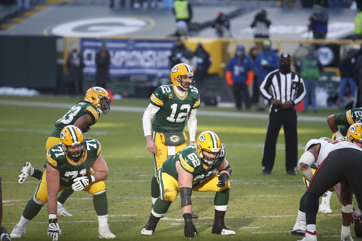 Green Bay Packers vs Tampa Bay Buccaneers, 2021 NFC Championship