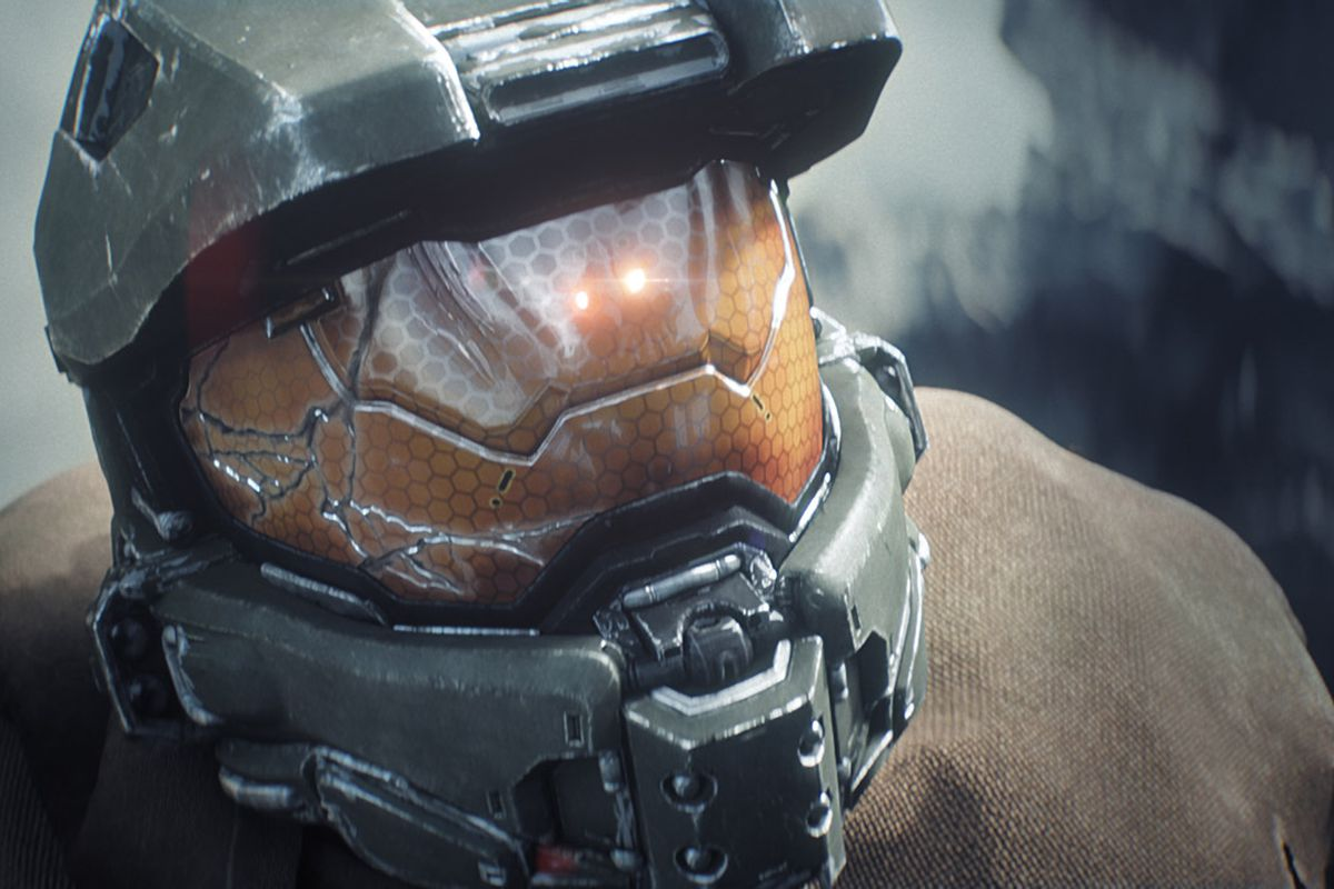 Halo 5: Guardians - Master Chief looking up