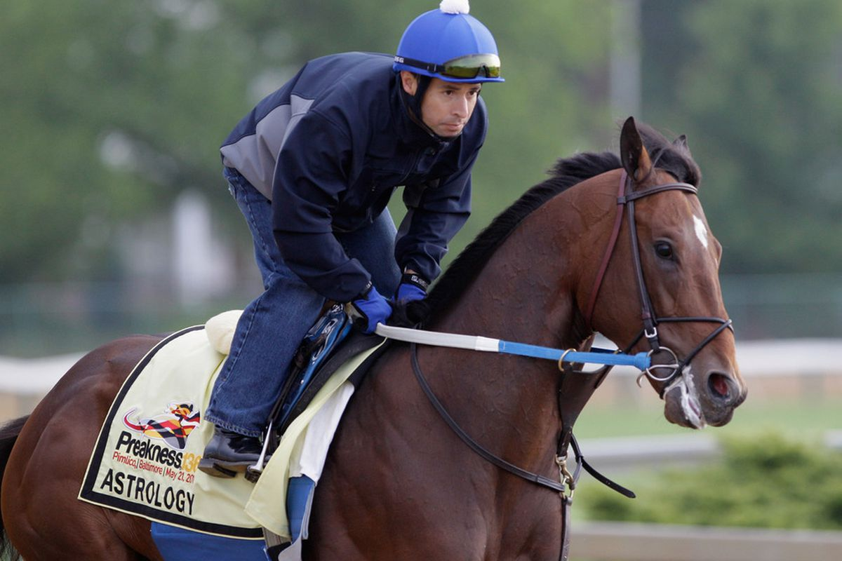 Astrology is the favorite for Saturday's Iowa Derby at Prairie Meadows.  (Photo by Rob Carr/Getty Images)