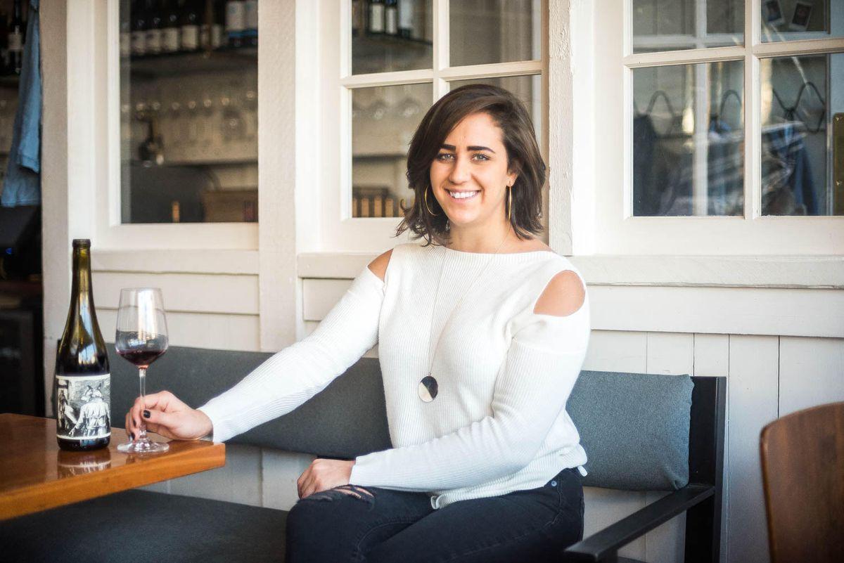 Himitsu co-owner and beverage director Carlie Steiner.