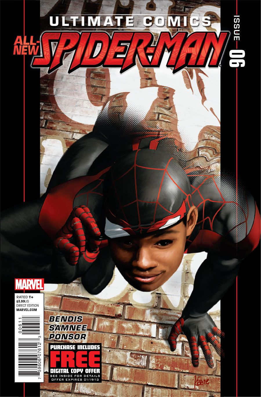 The cover of Ultimate Comics: Spider-Man