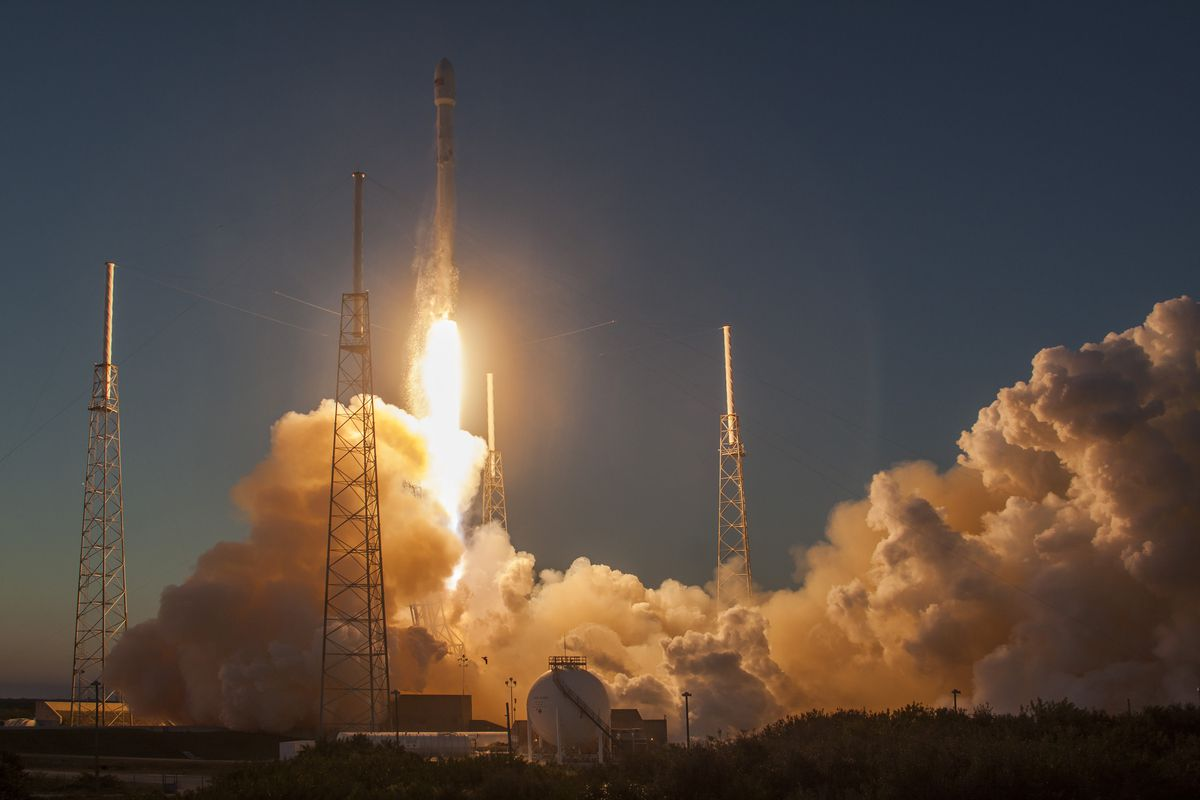 SpaceX will resupply the space station for the first time ...