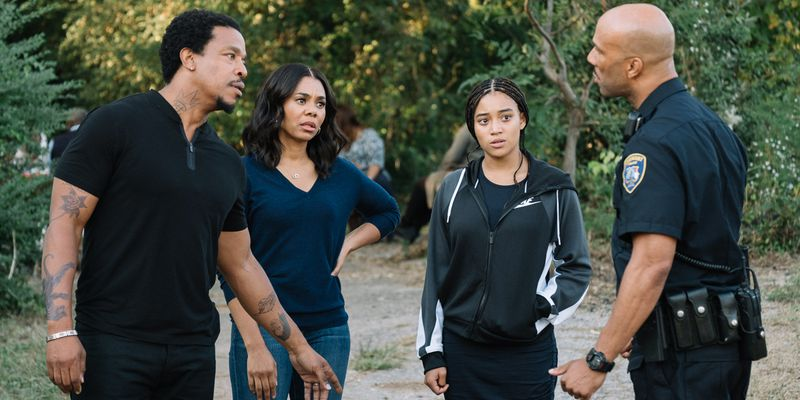 A scene from The Hate U Give