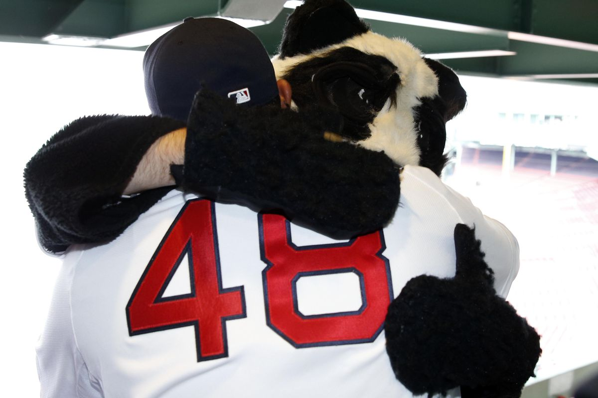 Hey! That panda is wearing gloves!