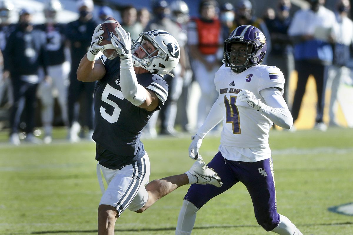 NFL draft: BYU WR Dax Milne is reportedly meeting with these teams -  Deseret News
