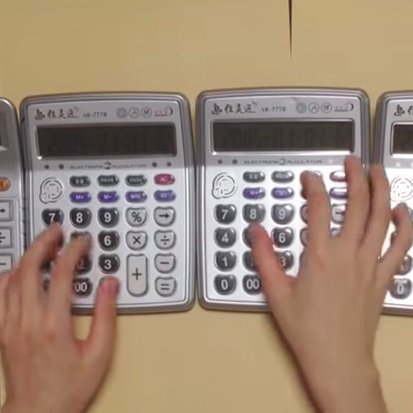 Calculators are the latest instrument used in creative new