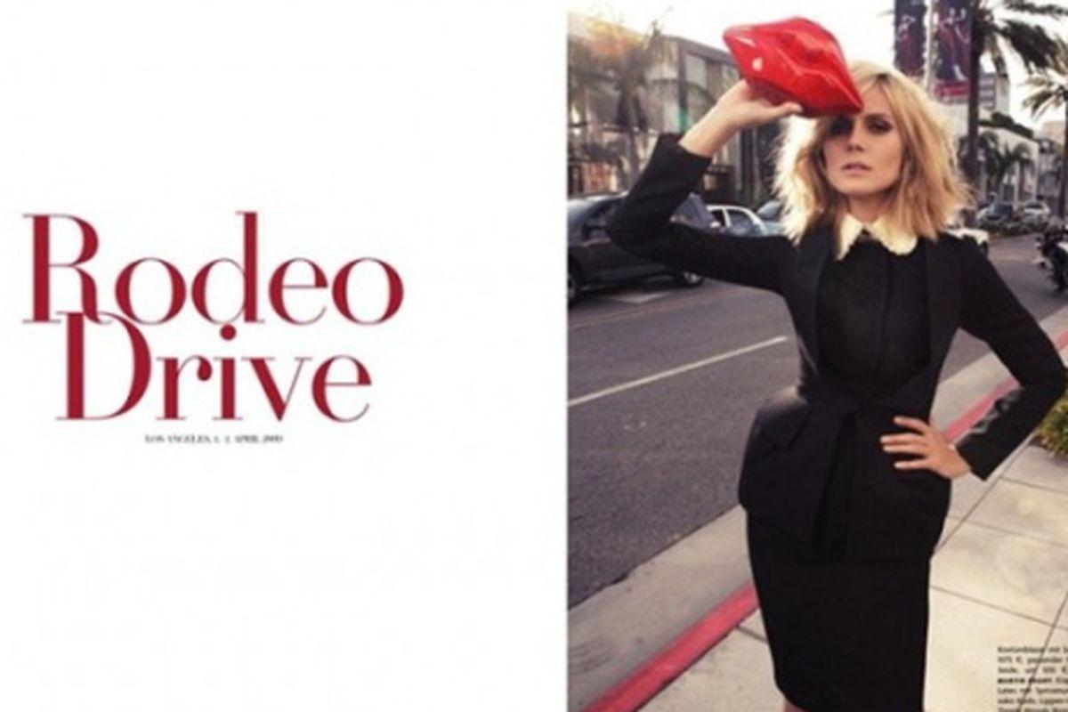 "Vogue Germany image via <a href=""http://cyanatrendland.com/2009/06/22/special-heidi-klum-for-vogue-germany/"">Cyana Trend Land</a>"