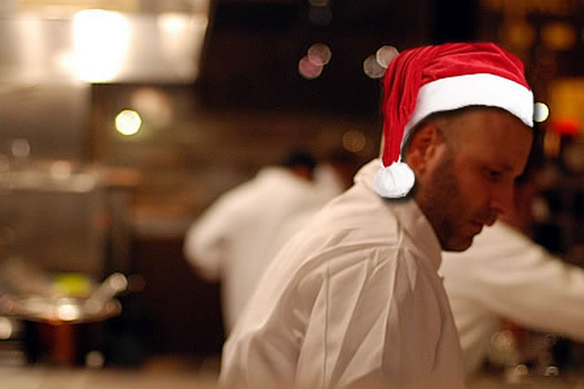 Marc Vetri loves the holidays in Philly