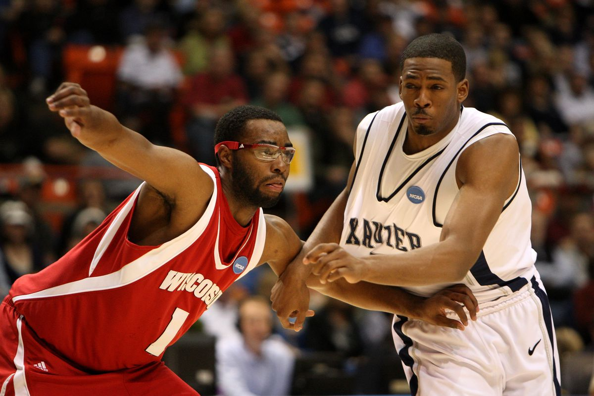 Marcus Landry and the 2009 Badgers ran out of steam late in their 2nd round game vs. Xavier.