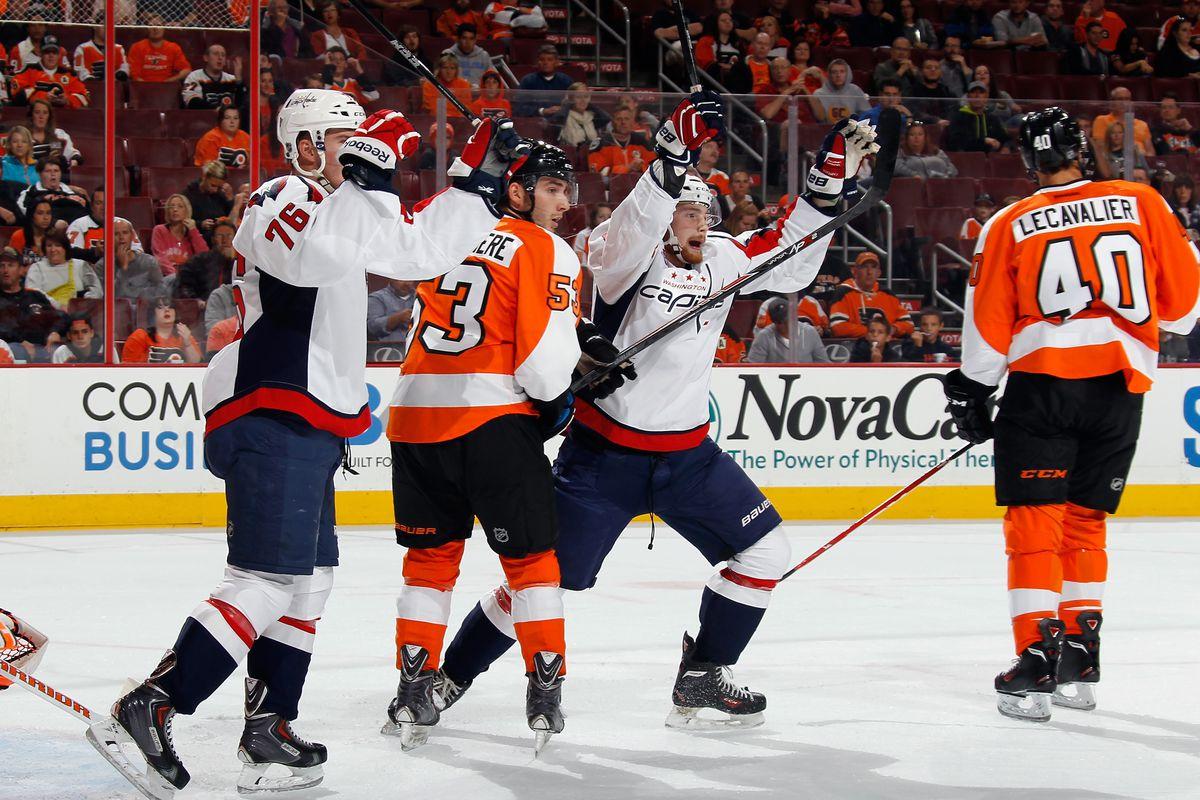 Washington Capitols v Philadelphia Flyers