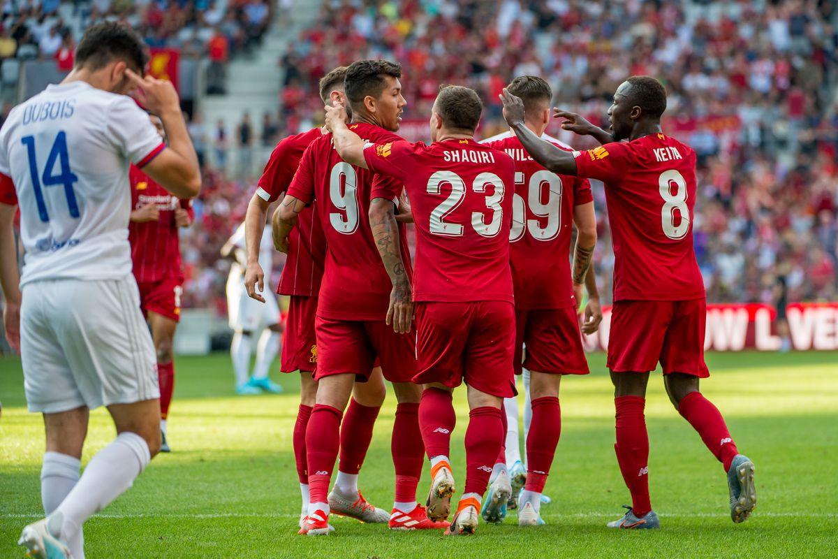 Liverpool v Olympique Lyonnais - Pre-Season Friendly