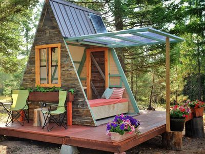 Tiny A-frame cabin costs just $700 to build
