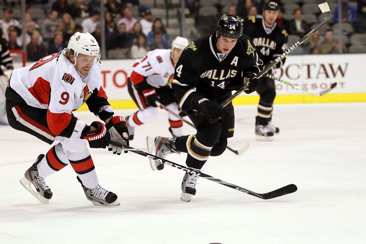Will Milan Michalek's flow run into something viscous? (Photo by Ronald Martinez/Getty Images)