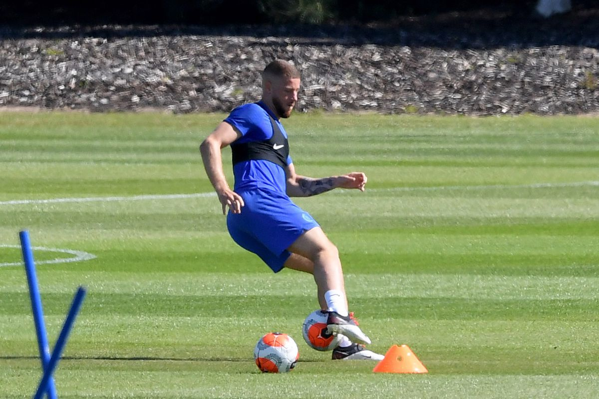 Chelsea Players Return to the Training Ground Following Covid-19 Restrictions Being Relaxed