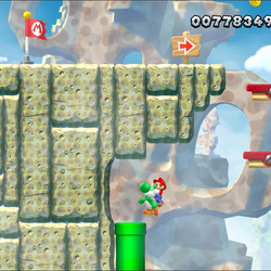 Rock-Candy Mines Star Coins locations: New Super Mario Bros