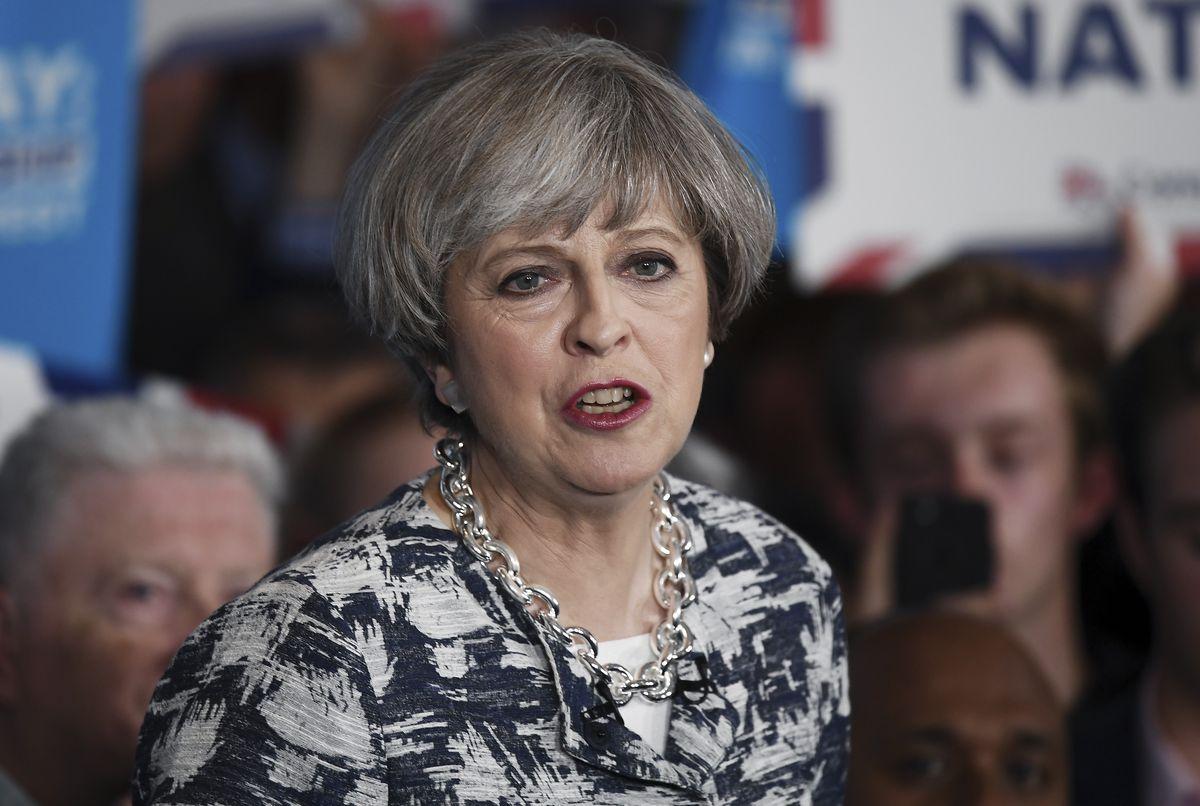 Theresa May Tours The UK On The Final Day Of The Election Campaign