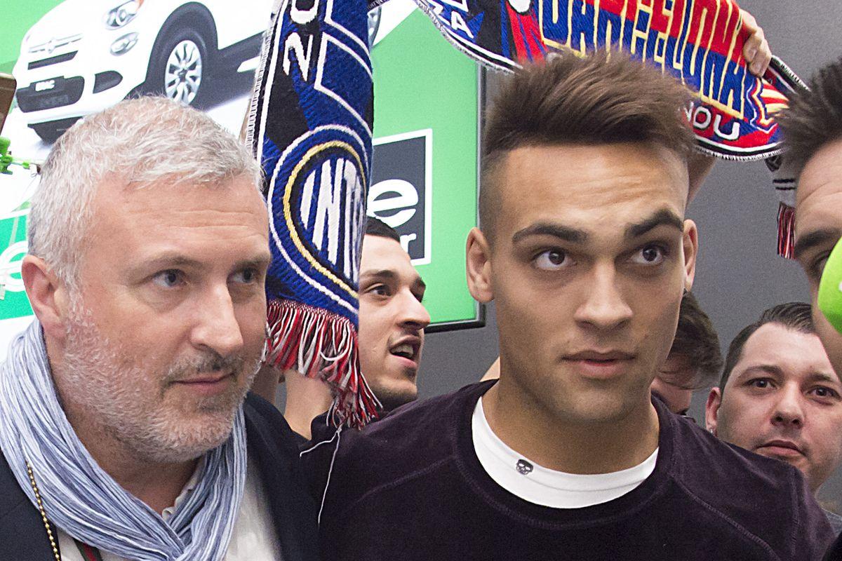 FC Internazionale New Signing Lautaro Martinez Arrives In Milan
