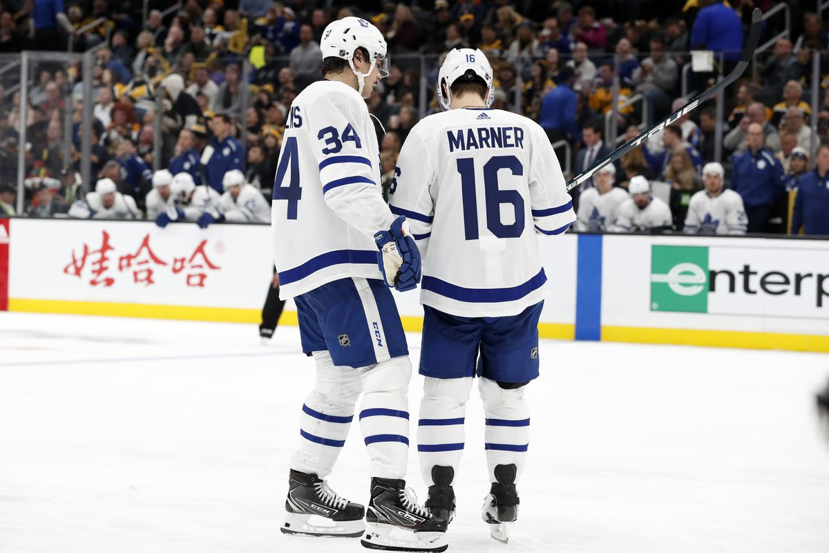 NHL: OCT 22 Maple Leafs at Bruins