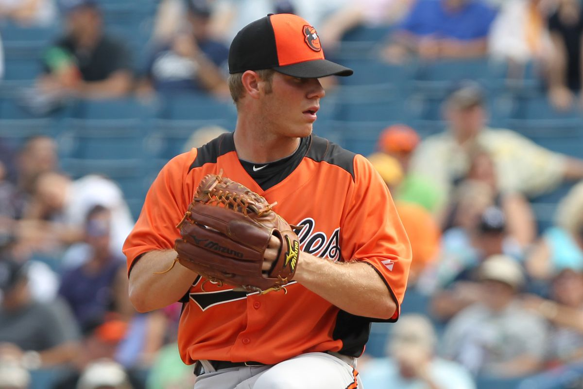 Baltimore Orioles right handed pitcher Dylan Bundy.