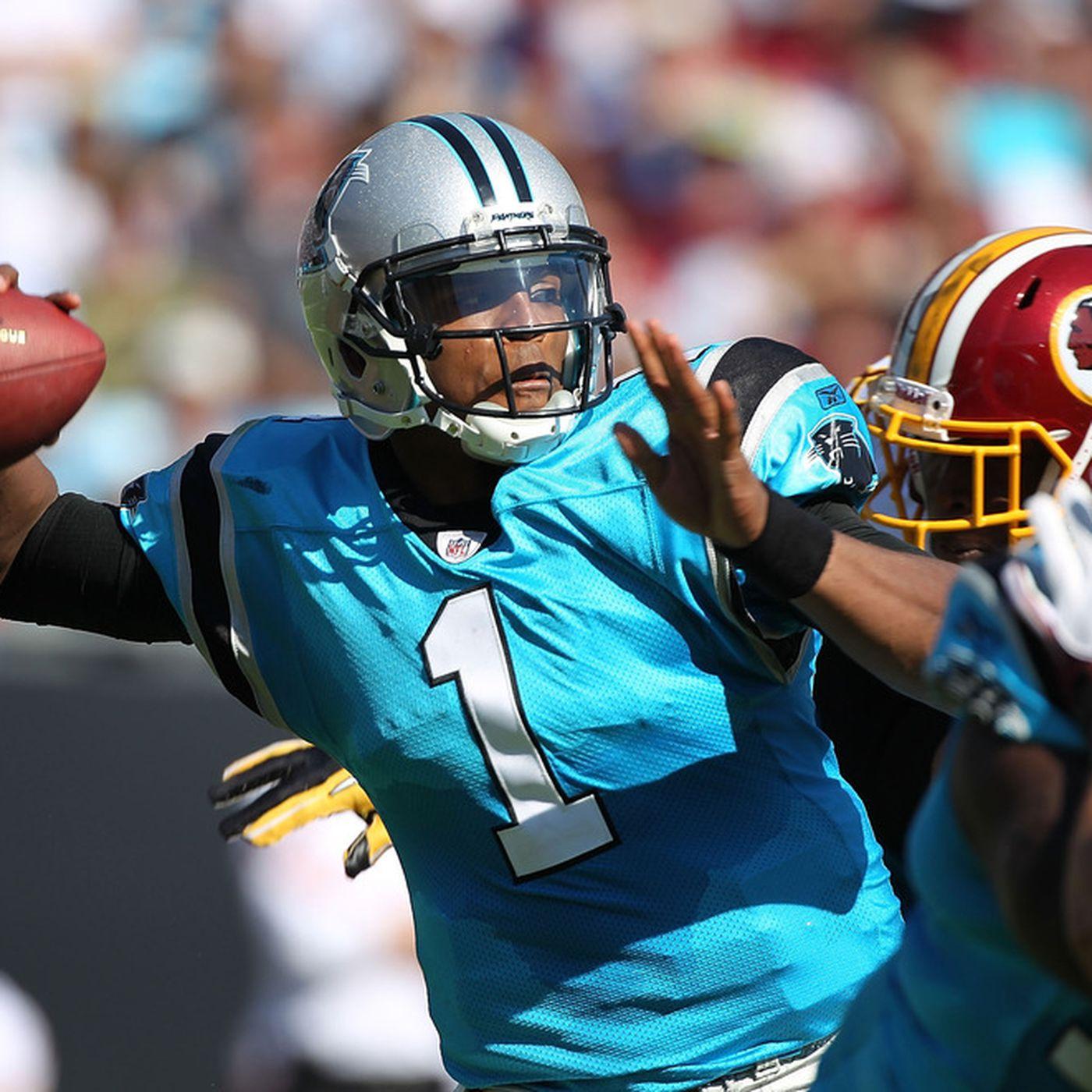 Panthers vs. Redskins  Game time afa96b15e