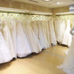 A bride's dress dreams come true.